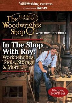 Roy Underhill | Roy Underhill and The Woodwright's Shop ...