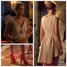 Serena Van der Woodsen - Louis Vuitton drees, spring 2006 Ready-to-Wear - Brian Atwood Martay pumps