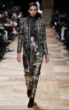 Balmain Fall 2013 - photos from Paris Fashion Week