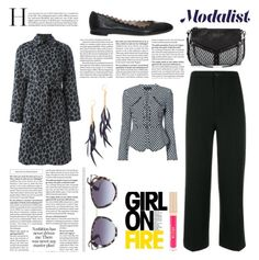 """""""Tuesday Fashion"""" by modalist ❤ liked on Polyvore featuring Yves Saint Laurent, Alexander Wang, Chloé, Botkier, Stila and Shashi"""