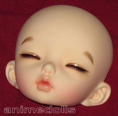 FairyLand BJD LittleFee Leah Sleep Faceplate w/ Stock Face Up in NS Legit NEW | eBay