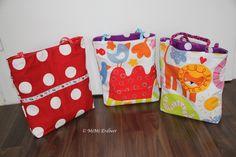 Nähanleitung: Kleine Spieltasche - MiMi Erdbeer