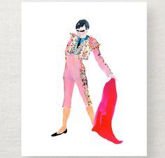 Matador print B by Happy Menocal