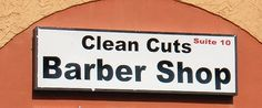 3'x10' Lighted Display Sign  Clean Cuts Barber Shop; St. Andrews Rd; Columbia, SC
