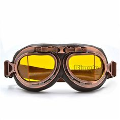 Trend Mark Wwii Vintage Motorcycle Goggles Racing Glasses Helmet Light Eyewear Pilot Retro Motocross Daft Punk Helmet Steampunk Accessories Kids Costumes & Accessories