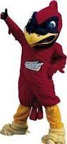 Cy, Iowa State University's mascot.