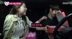 "Gong Seung Yeon Gifts Lee Jong Hyun With Kisses on ""We Got Married"""
