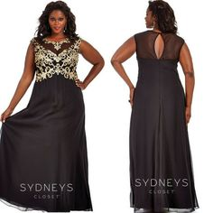 258c46f1060 139 Best Plus Size Prom Dresses images in 2019