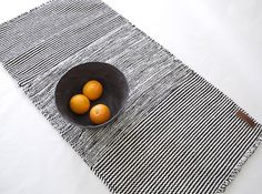 """<p style=""""text-align: justify;"""">New from Lagos del Mundo, these handmade wool rugs are inspired by the ancient textile tradition of the Bernal Village in the state of Queretaro, Mexico, where wool has been used since ancient times for rug weaving. Made on traditional looms, they are handmade and that is why their appearance can differ from product to product. The whiteness of the wool yarns can also differ depending on the time of the year the sheep are sheared. Available in 2 sizes: L..."""