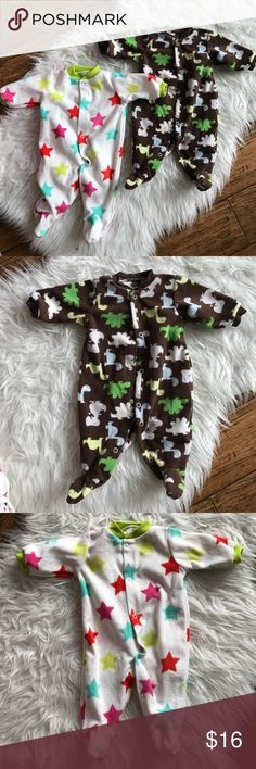 Baby outfit one pieces Baby outfit one pieces, Newborn size, never worn. But washed. One Pieces Footies