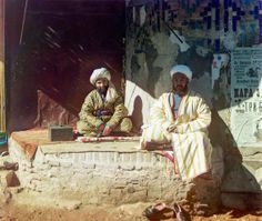 Trader in the Registan. Samarkand