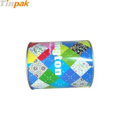 The round sweet tin boxes are used to pack and store food requires strict storage condition.  http://www.tinpak.us/Products/Customprintingsweettinboxes.html