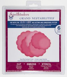 On Sale   Spellbinders Grand BIG SCALLOPED by DivineDesignsbyBonni