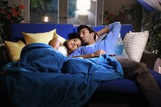 """Jane The Virgin -- """"Chapter Seven"""" -- Image -- Pictured (L-R): Gina Rodriguez as Jane and Justin Baldoni as Rafael -- Photo: Greg Gayne/The CW -- © 2014 The CW Network, LLC. All rights reserved. Jane The Virgin, Series Movies, Tv Series, Comedy Series, Netflix Series, Jane And Rafael, Thats 70 Show, Justin Baldoni, Gina Rodriguez"""