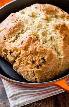 Sally's Baking Addiction | Grandma's Irish Soda Bread Recipe with step-by-step photos