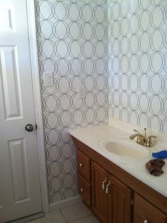 White And Silver Wallpaper By Allen Roth Lowes Same As Darcy From Home Depot Love It