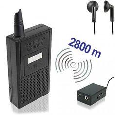 Abhörgeräte Komplettset bestehend auf Sender & Empfänger für hohe Reichweiten. Electronics, Consumer Electronics
