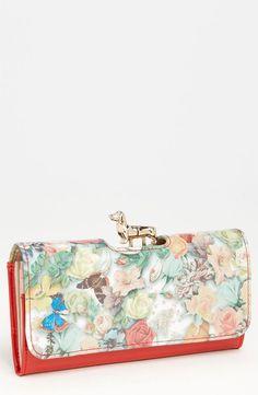 Ted Baker London 'Decoupage - Dachshund Bobble' Matinee Wallet