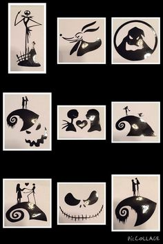 Nightmare Before Christmas Decals by KJeqCreations on Etsy