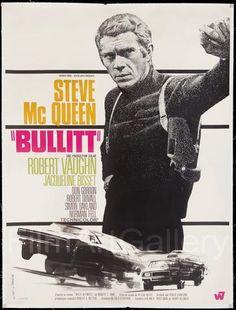 "Director Peter Yates'  ""Bullitt"" starring Steve McQueen"