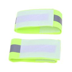 2pcs Ultralight Safety Reflective Warning Band Belt Arm Leg Straps for Outdoor Sports Accessories Night Cycling Protector Angel #women, #men, #hats, #watches, #belts