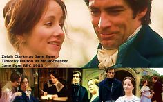 The definitive Jane Eyre film for me even though it's a miniseries