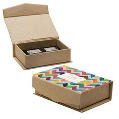 ee935d3d74e Neil Enterprises 170 - Kraft Flash Drive Box