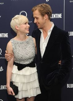 Michelle Williams and Ryan Gosling attend the New York premiere of Blue Valentine on December 7, 2010.