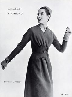Givenchy 1954 Fashion Photography