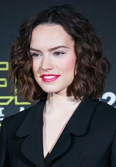 Spotted: The Unexpected Hue on Every Cool Girl's Lips - Daisy Ridley