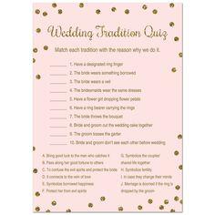 Bridal Shower Activities, Fun Bridal Shower Games, Unique Bridal Shower, Bridal Shower Party, Bridal Showers, Wedding Games, Wedding Planning, Before Wedding, Gold Dots