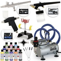 Pro Airbrush Cake Decorating Set - 12 AmeriMist Colors: http://www.amazon.com/Pro-Airbrush-Cake-Decorating-Set/dp/B004L037V4/?tag=greavidesto05-20