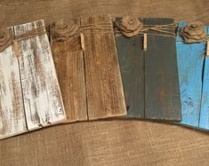 Rustic Wooden Picture Frame / Note Holder / Wooden Frame / rustic decor / farmhouse decor / pallet wood frame / clip board