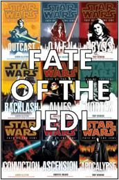 Fate of the Jedi...good series! for the star wars nerds out there...like me. ;)