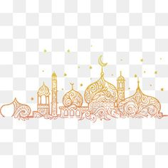 Hand-painted religious church eid al adha PNG and Vector