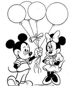 Mickey Mouse coloring pages 34