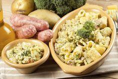 Rigatoni con broccoletti, ricotta e salsiccia Ricette di checucino.it :