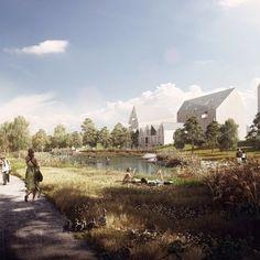 (160) Sandvedparken_Destino_4_architectural_visualization | Architecture - Renderings | Pinterest