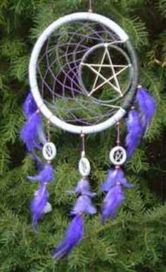 Inspiration for a dream catcher I want to make.