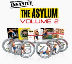 THE ASYLUM Volume 2!!  Oh it's ON now!!  Get it from me exclusively through October!    www.beachbodycoach.com/teamlou
