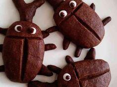 子供が喜ぶ☆カブトムシくんクッキー