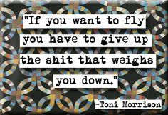 Toni Morrison Quote Magnet no212 by chicalookate on Etsy, $4.00