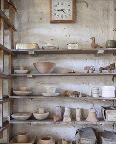 Bernard Leach studio