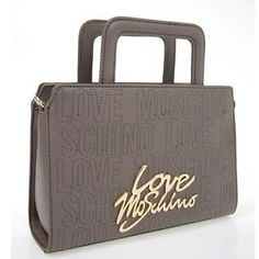 Hand-bag-with-shoulder-strap-Clutch-Love-Moschino-Taupe-4091Tasche