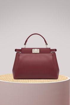 b8fbfd630c6e FENDI Mini Peekaboo handbag. #fendi #bags #shoulder bags #hand bags #