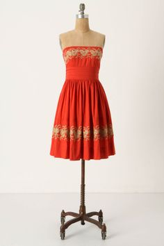 Around the Maypole Dress $158 {I searched for something like this last year for homecoming!}