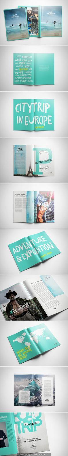 Road Trip Magazine--Could create a san diego adventure mini magazine
