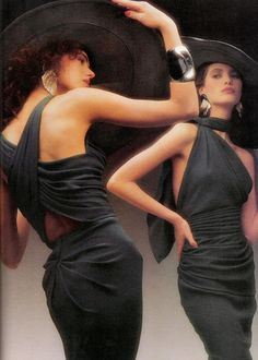 Christy Turlington 1986 ...OMG I love this !!!! ...//MD