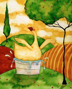 Fowls : Debi Hubbs Artwork, Original Artwork, Prints, Designs ...