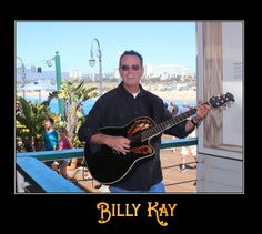 Hanging out by the Ladies Restroom in Santa Monica, CA.  All My Best, Billy Kay